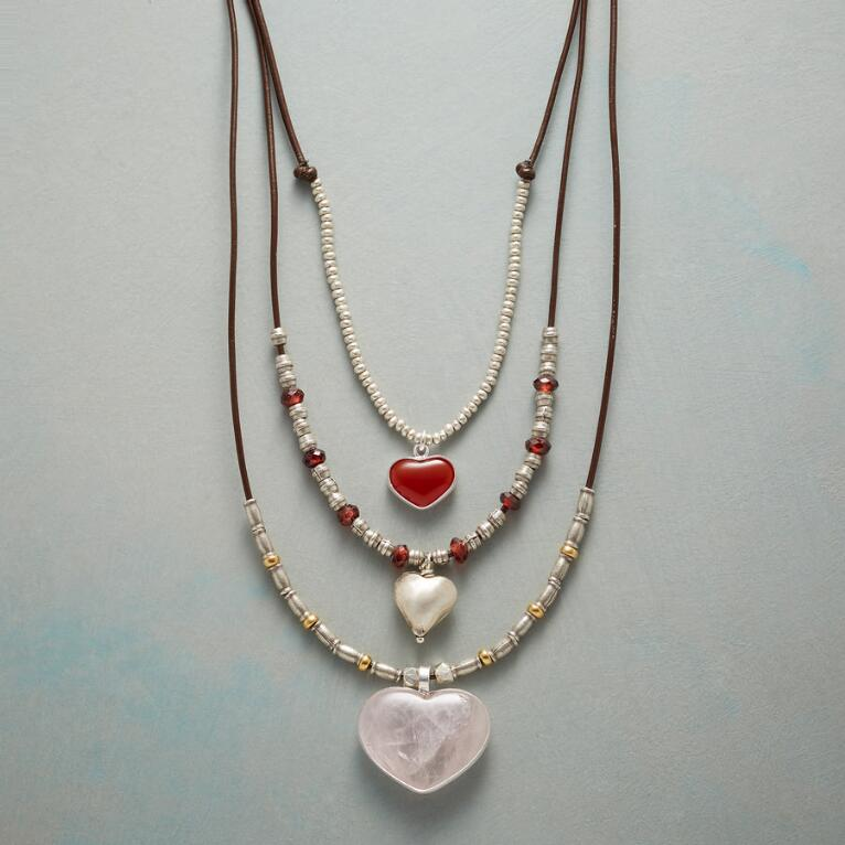 THREE TIMES THE LOVE NECKLACE