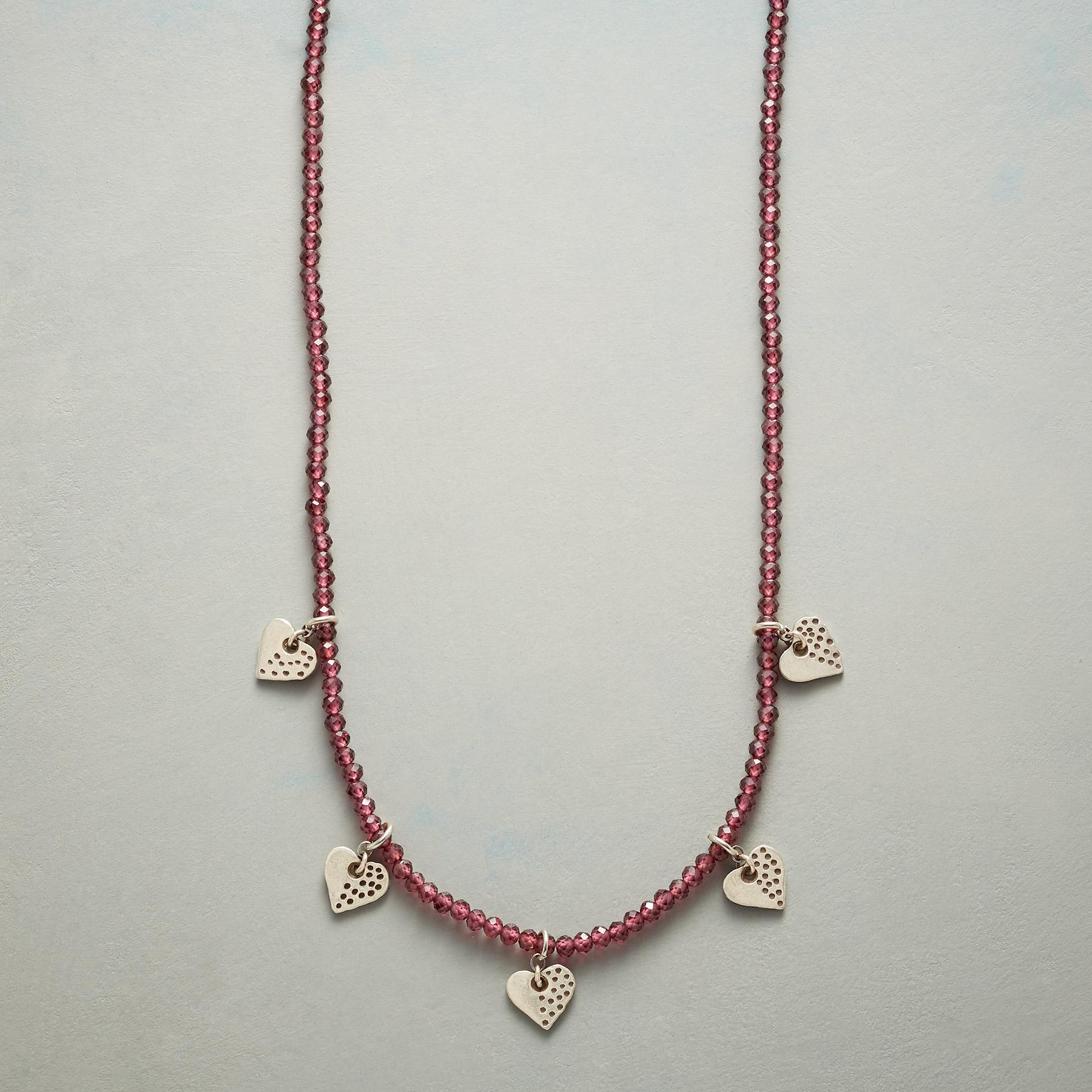 HEARTS AND KISSES NECKLACE: View 1