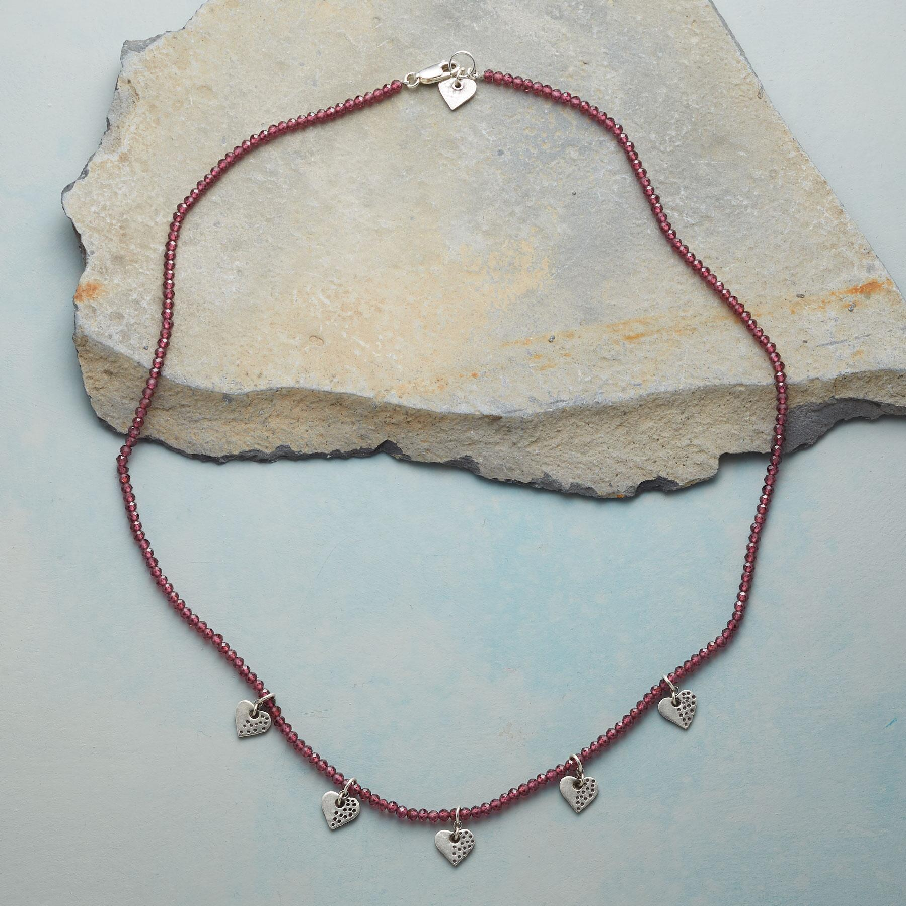 HEARTS AND KISSES NECKLACE: View 2