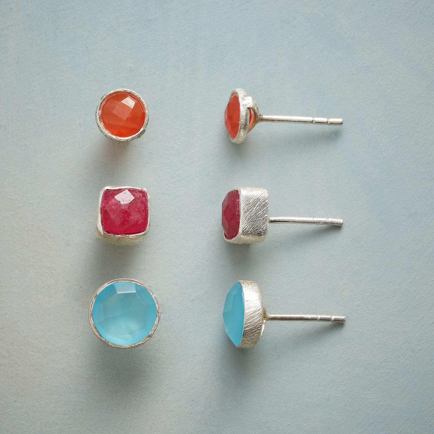 MOOD MAKER EARRING TRIO: View 1