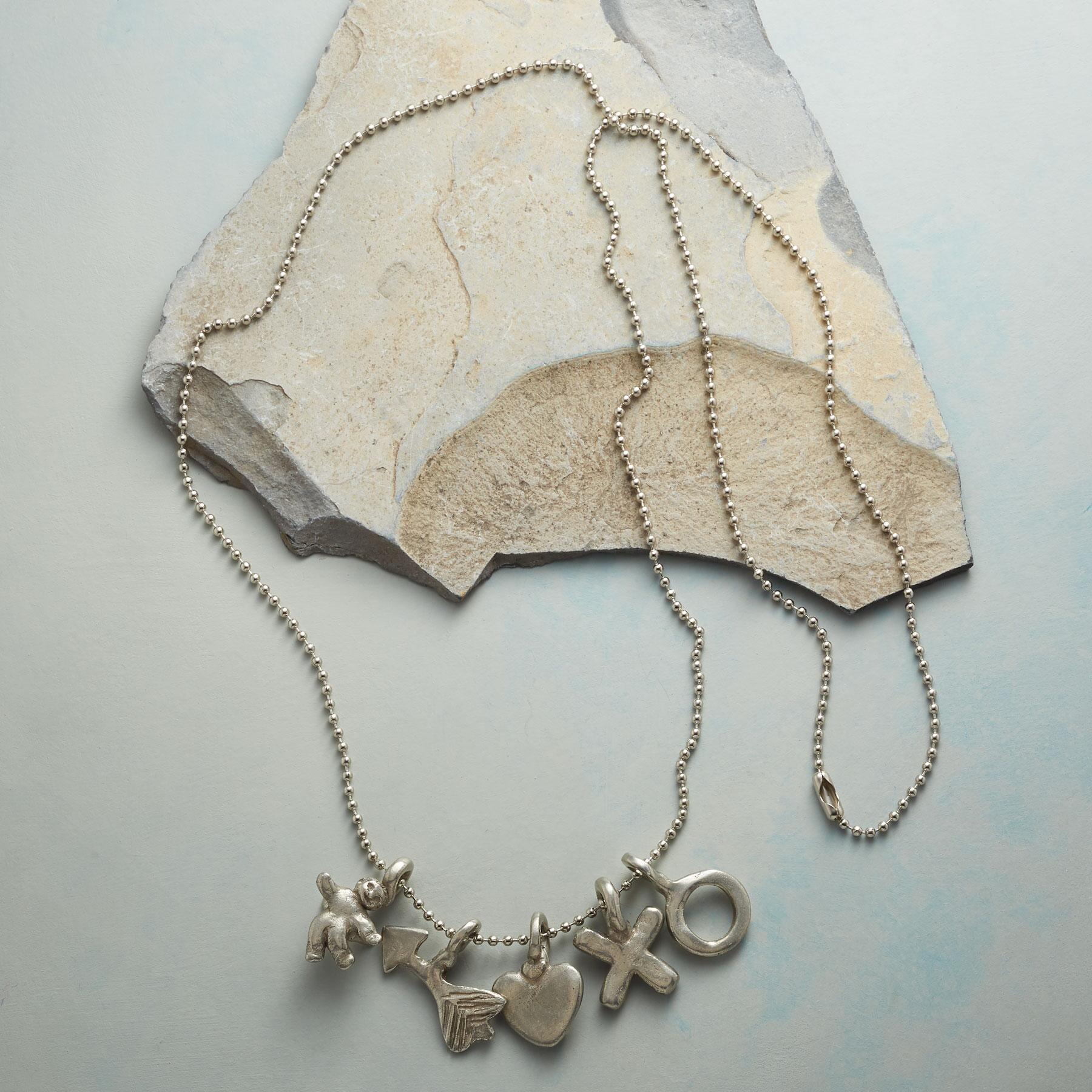 CUPIDS BOW NECKLACE: View 2