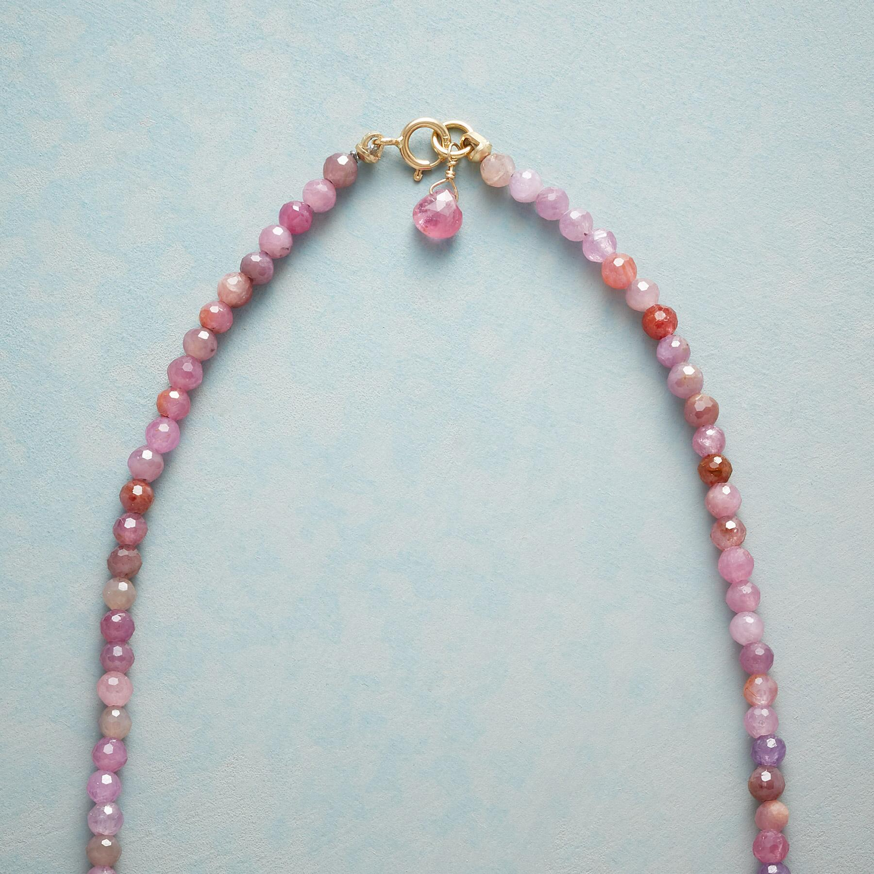 RUBY LEAF NECKLACE: View 3