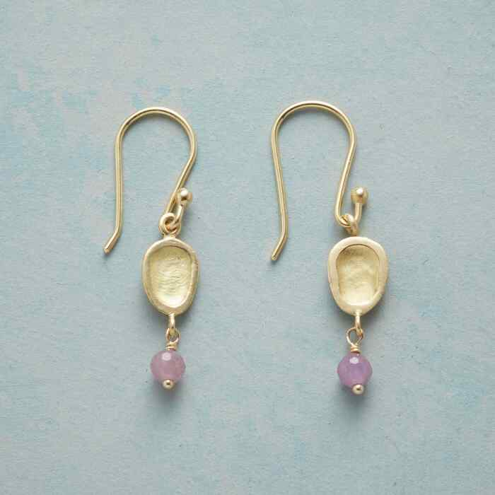 RUBY OYSTER EARRINGS