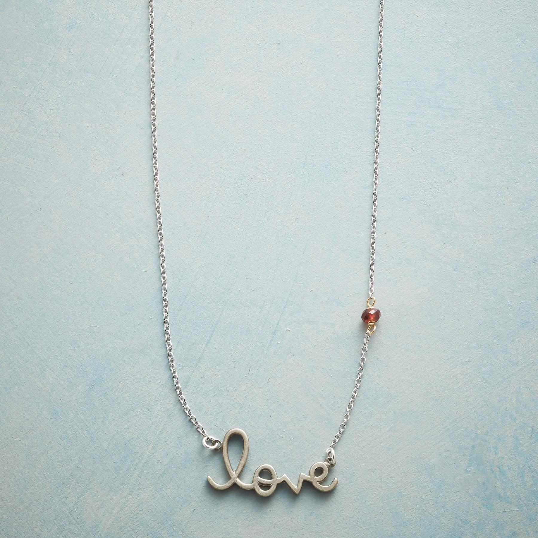 SS LOVE NECKLACE: View 1