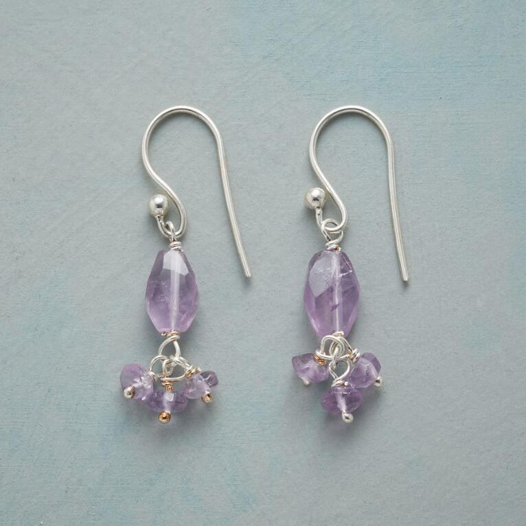 AMETHYST BALLERINA EARRINGS