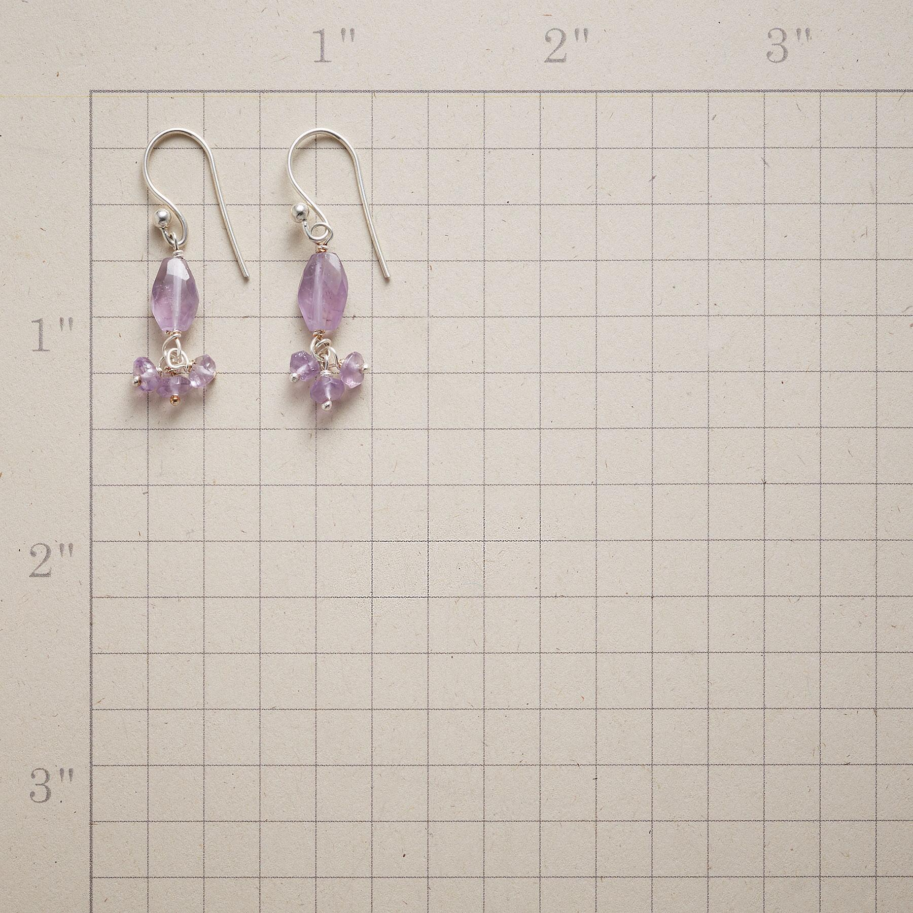 AMETHYST BALLERINA EARRINGS: View 2