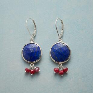 SUNLIT LAPIS EARRINGS