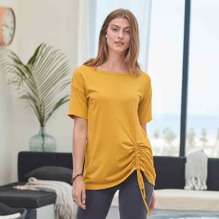 EVERYDAY RUCHED TUNIC