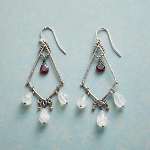 GARNET SERENADE EARRINGS