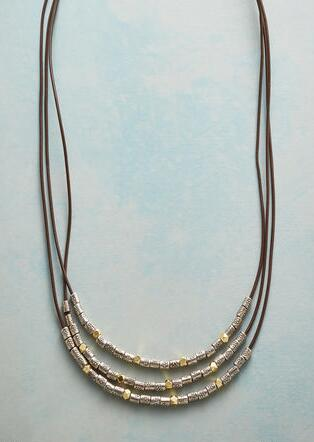 RULE OF THREES NECKLACE