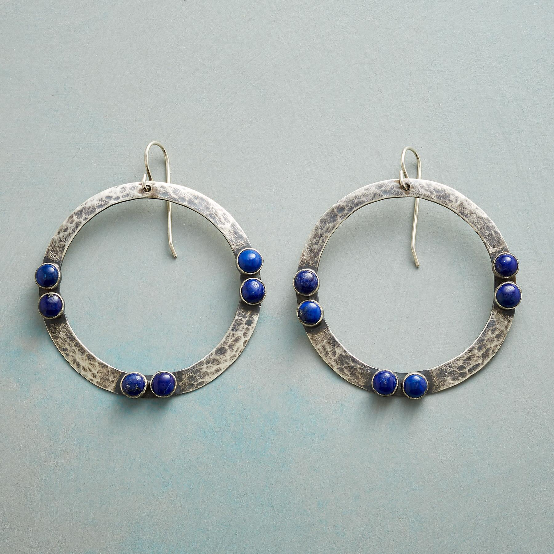 BY TWO LAPIS EARRINGS: View 1