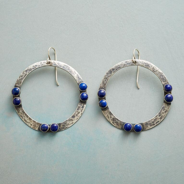 BY TWO LAPIS EARRINGS