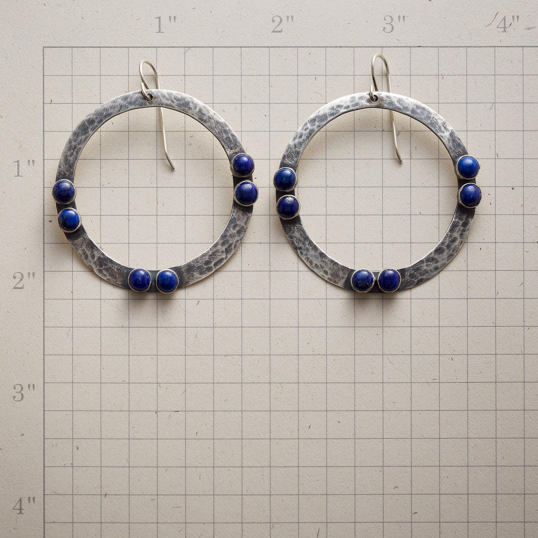 BY TWO LAPIS EARRINGS: View 2