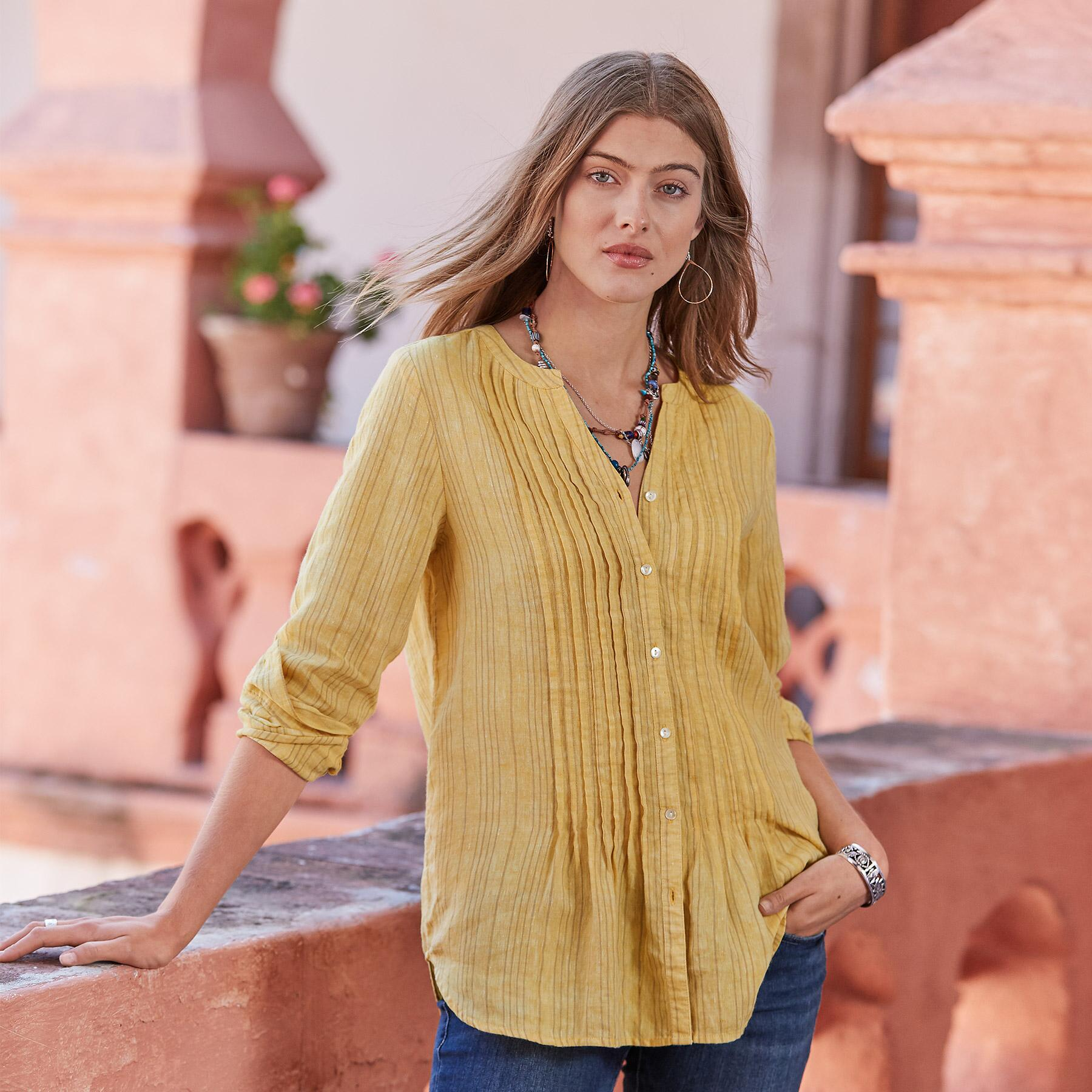 WARM BREEZE STRIPE TUNIC: View 2