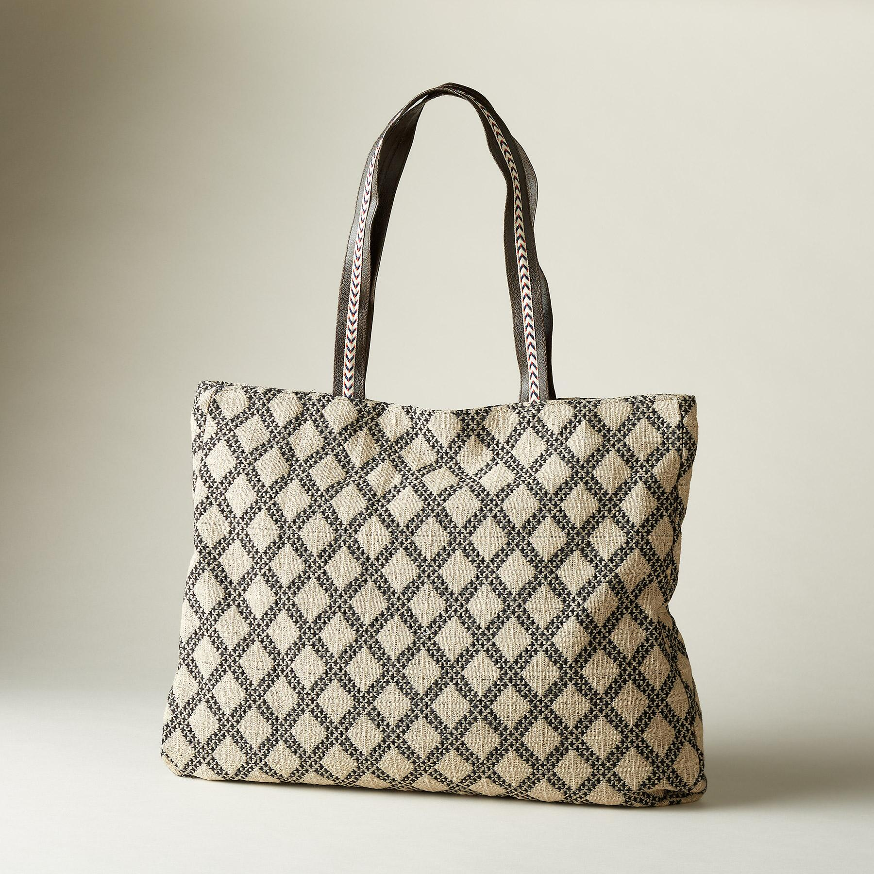 FREE-SPIRITED FLORAL TOTE: View 2