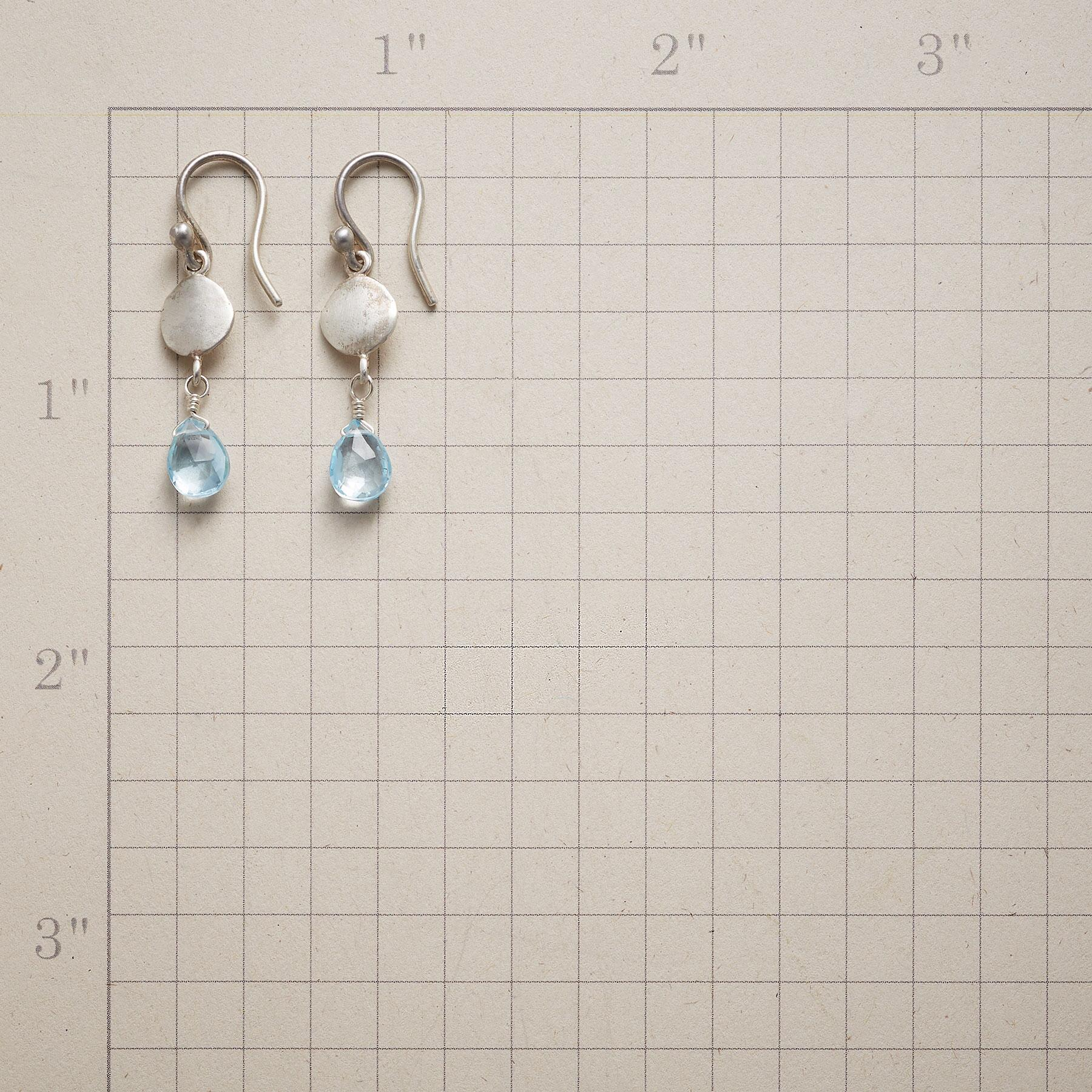 SILVER AND ICE EARRINGS: View 2