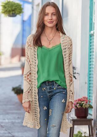 5d5d6721fc1755 SOFIA CROCHET CARDIGAN. Quick SHOP