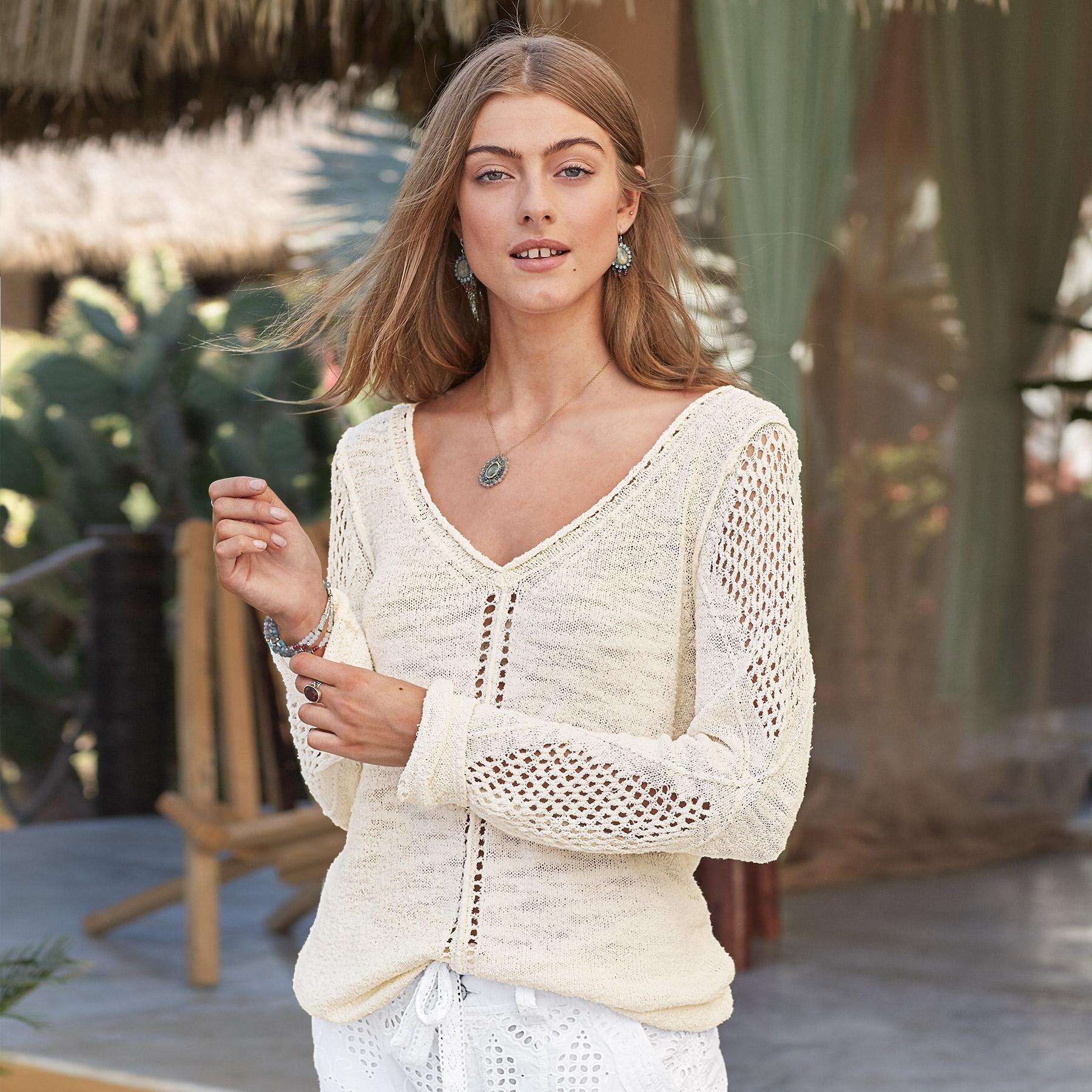 OPEN BREEZE PULLOVER: View 1