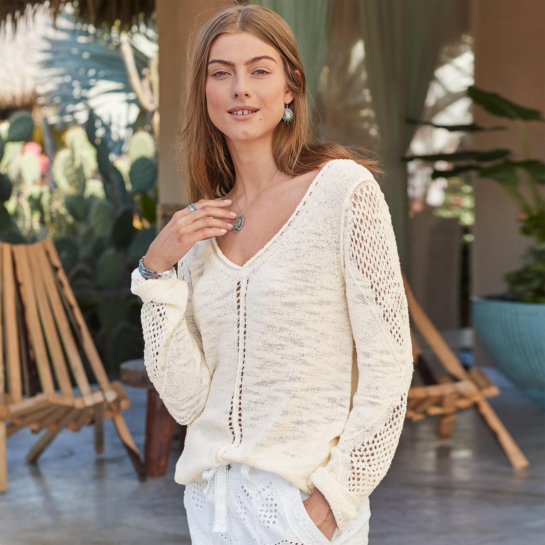 OPEN BREEZE PULLOVER: View 2