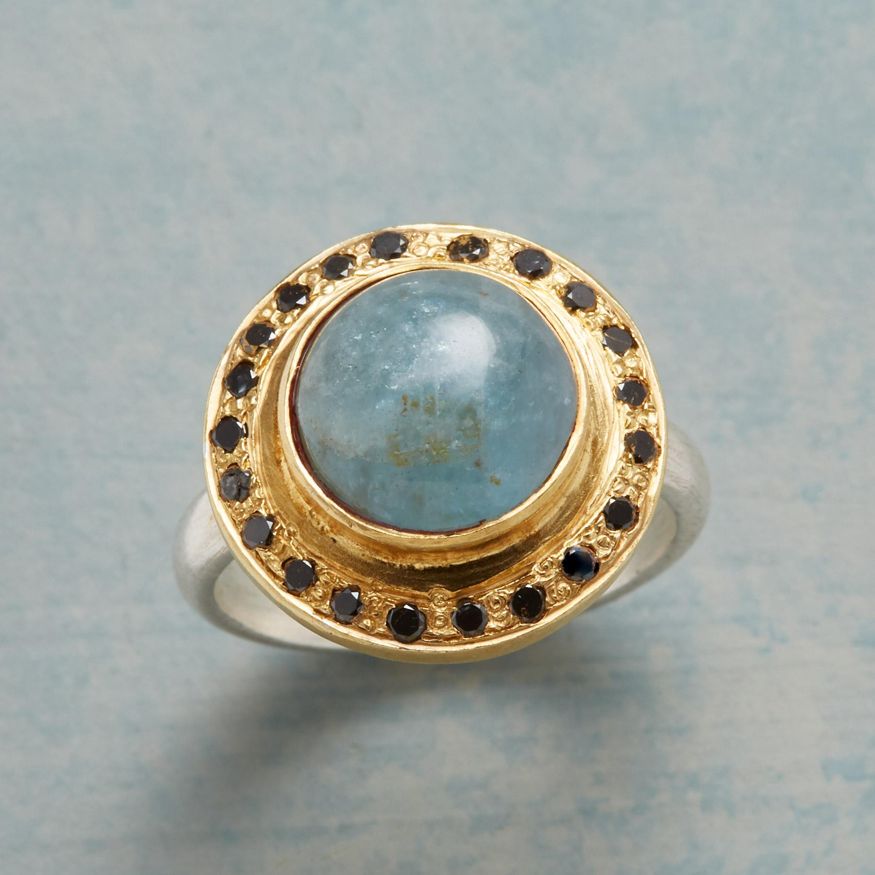 AQUAMARINE OBSERVATORY RING: View 1