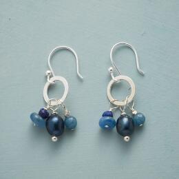 BLUE BYGONES EARRINGS