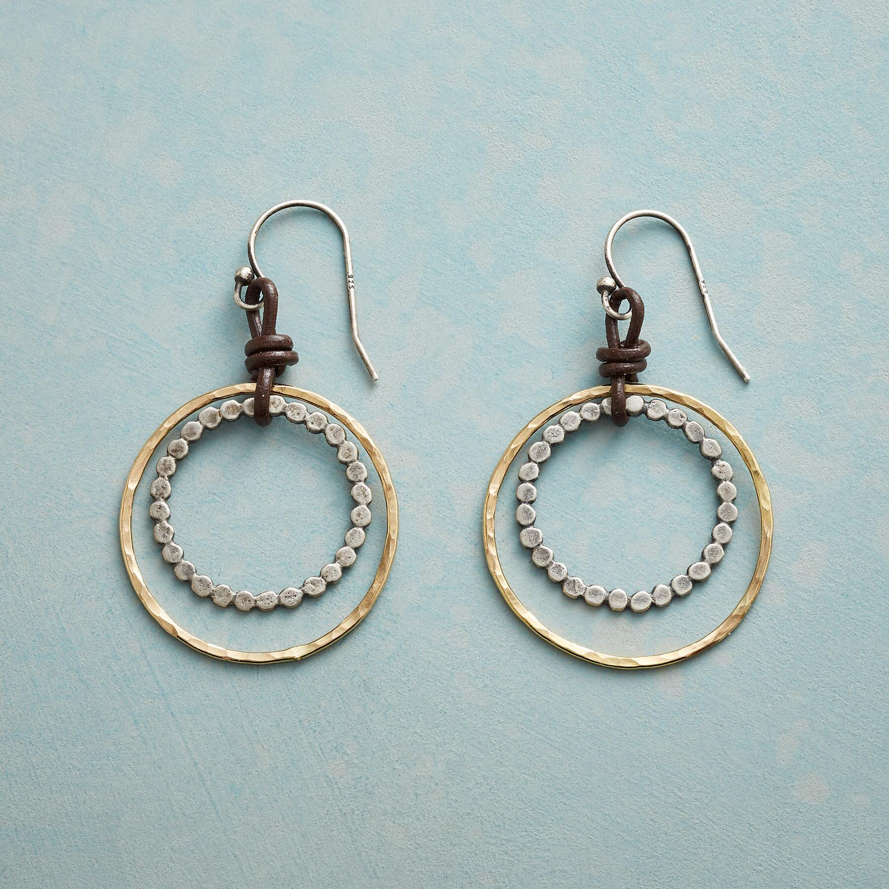 PARTIAL ECLIPSE EARRINGS: View 1