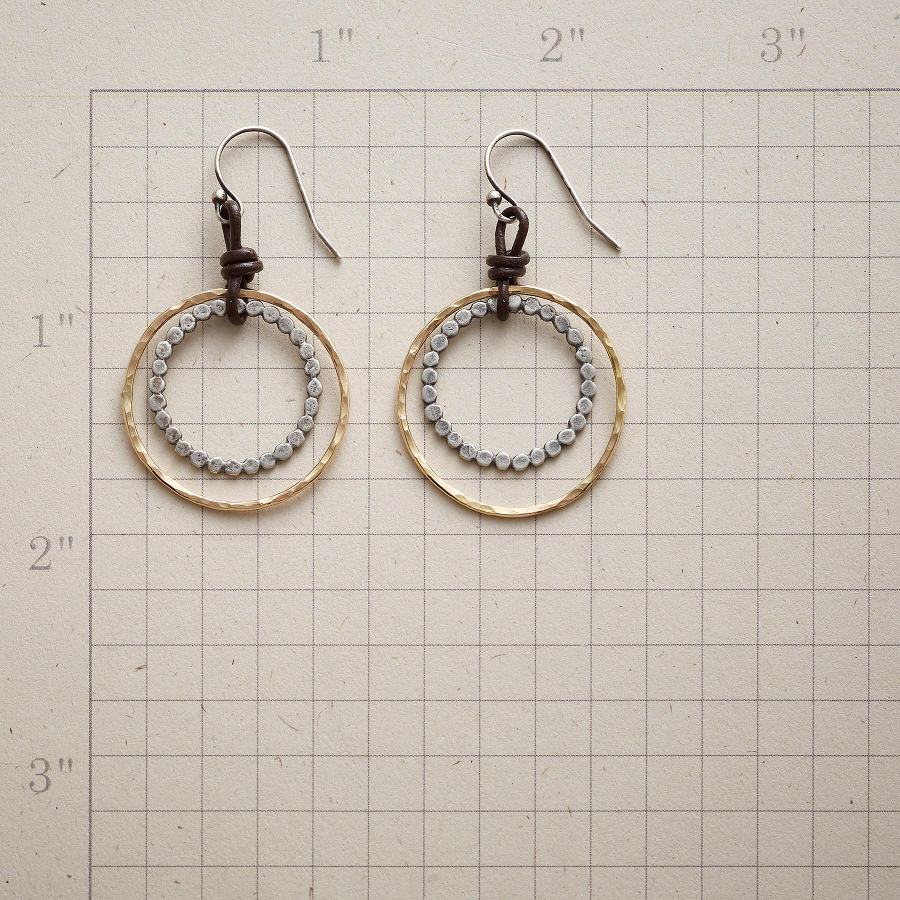 PARTIAL ECLIPSE EARRINGS: View 2