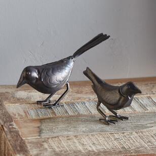 SERENE SONGBIRDS, SET OF 2