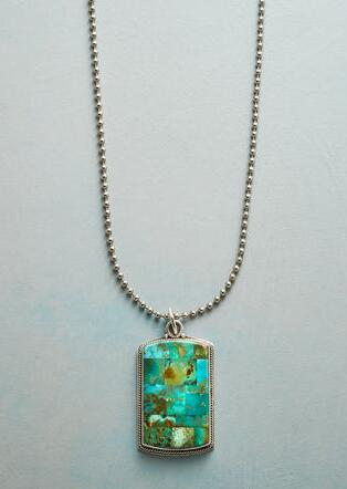 UNFORGETTABLE TURQUOISE NECKLACE