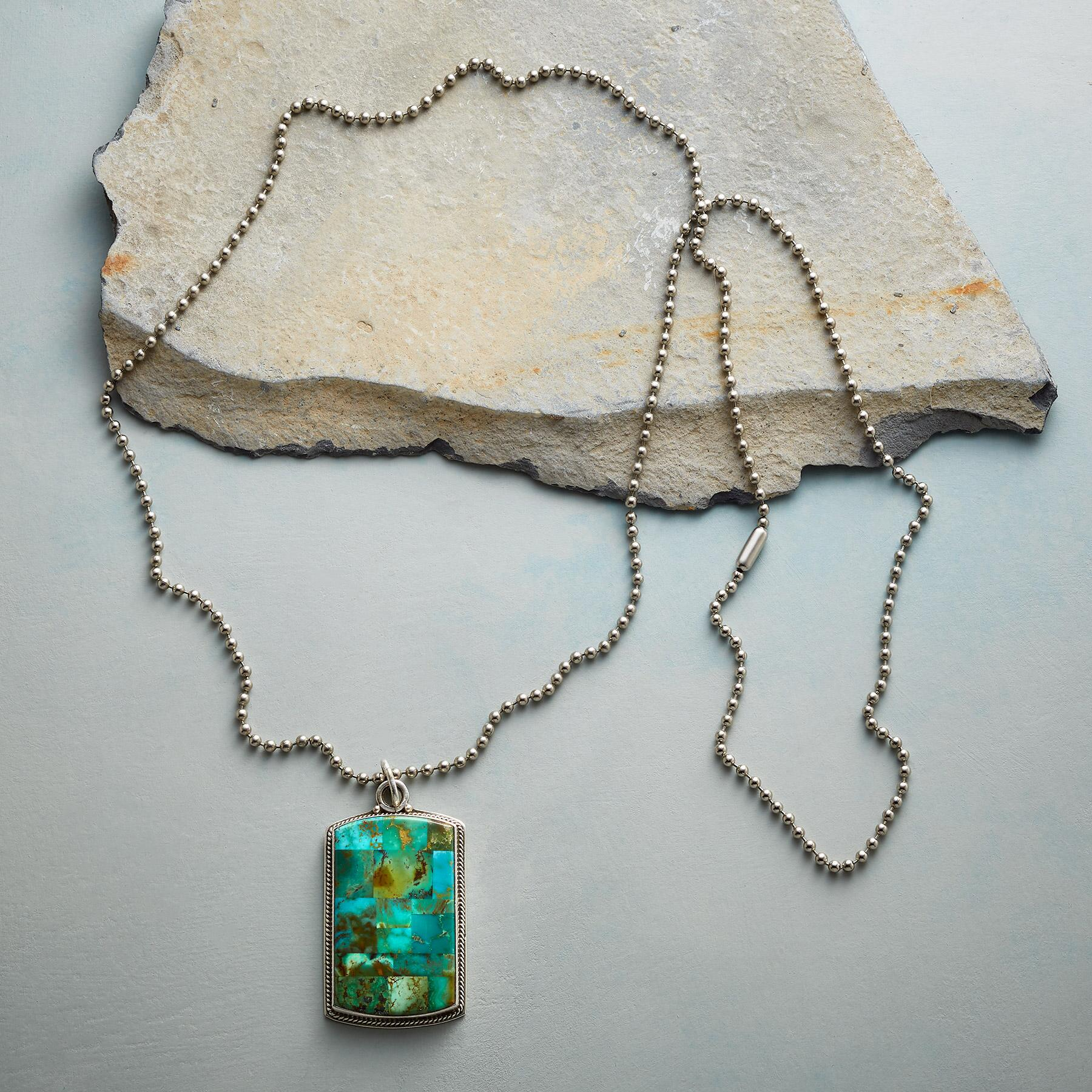 UNFORGETTABLE TURQUOISE NECKLACE: View 2