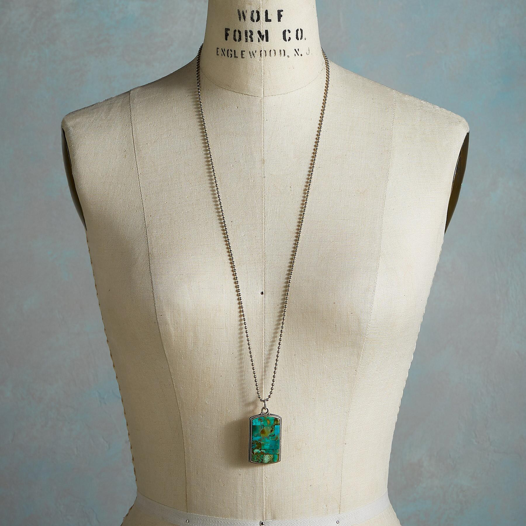UNFORGETTABLE TURQUOISE NECKLACE: View 3
