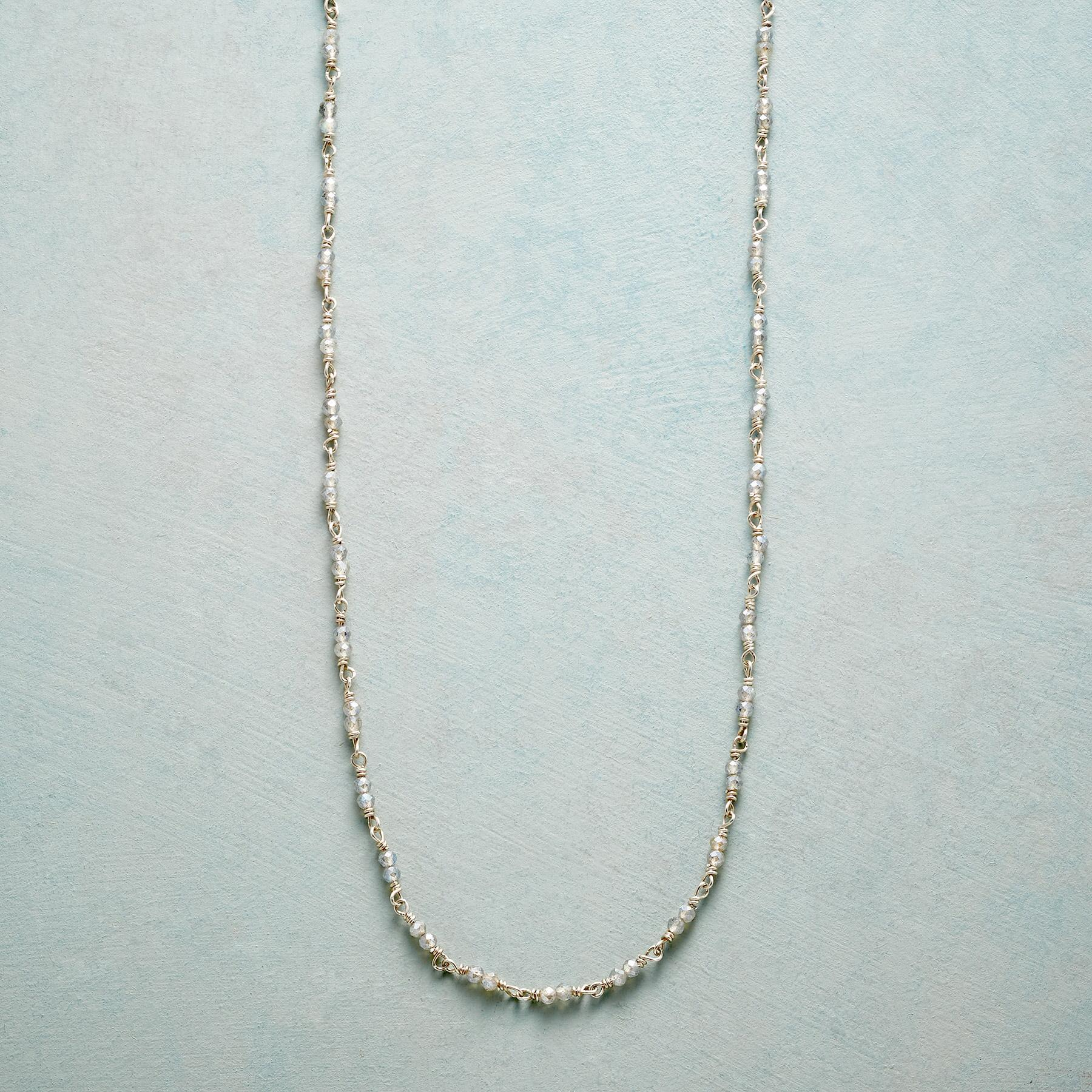 GENTLE SHIMMER LABRADORITE CHAIN: View 1