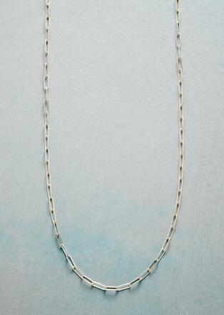 BOX LINK STERLING CHAIN