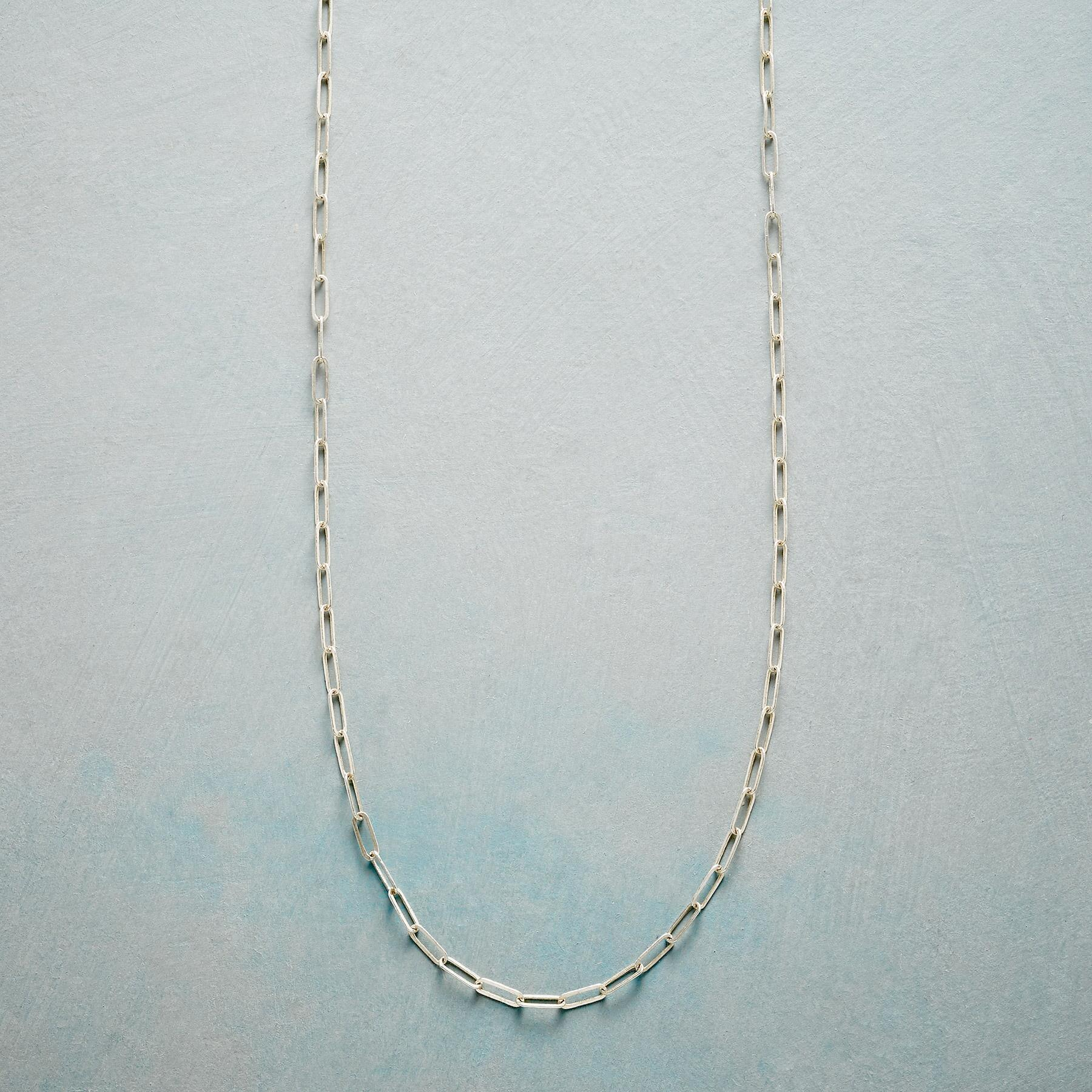 BOX LINK STERLING CHAIN: View 1