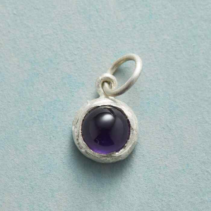 ENCIRCLED BIRTHSTONE CHARM