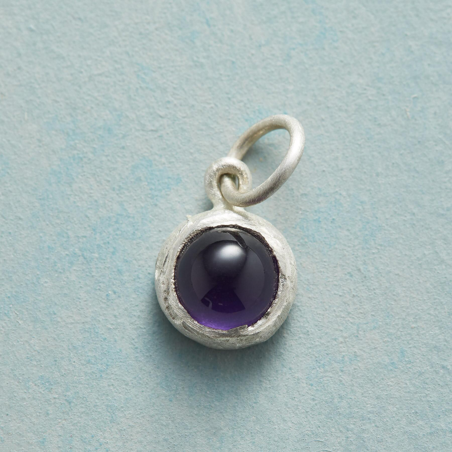 ENCIRCLED BIRTHSTONE CHARM: View 1