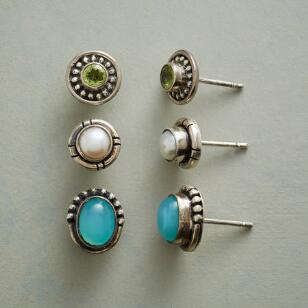 SEA HUES EARRING TRIO