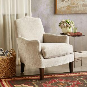 AMELIA VELVET CLUB CHAIR