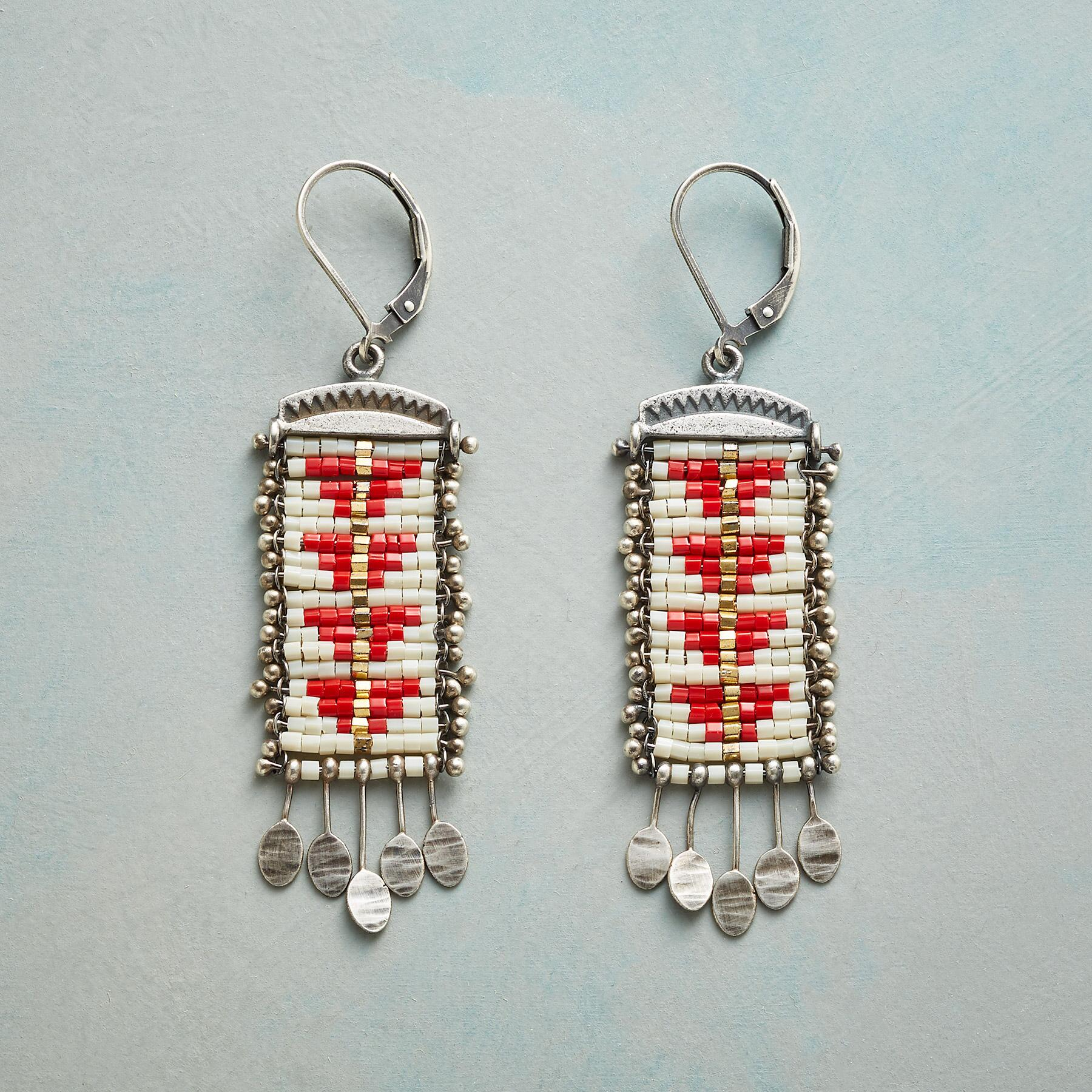 SACRED PEAK EARRINGS: View 1
