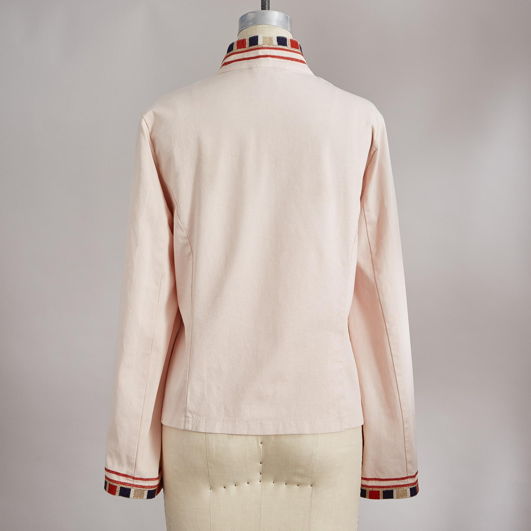 CAROLA EMBROIDERED JACKET: View 3