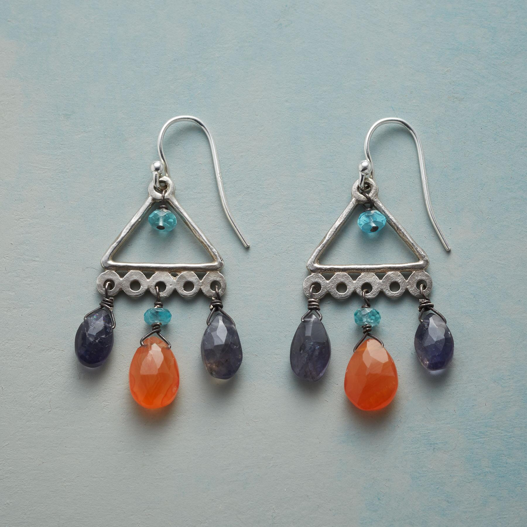 DROPS OF COLOR EARRINGS: View 1