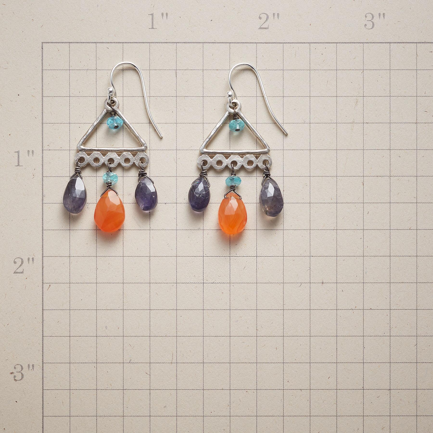 DROPS OF COLOR EARRINGS: View 2