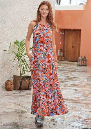 POLYNESIAN BEAUTY DRESS - PETITES