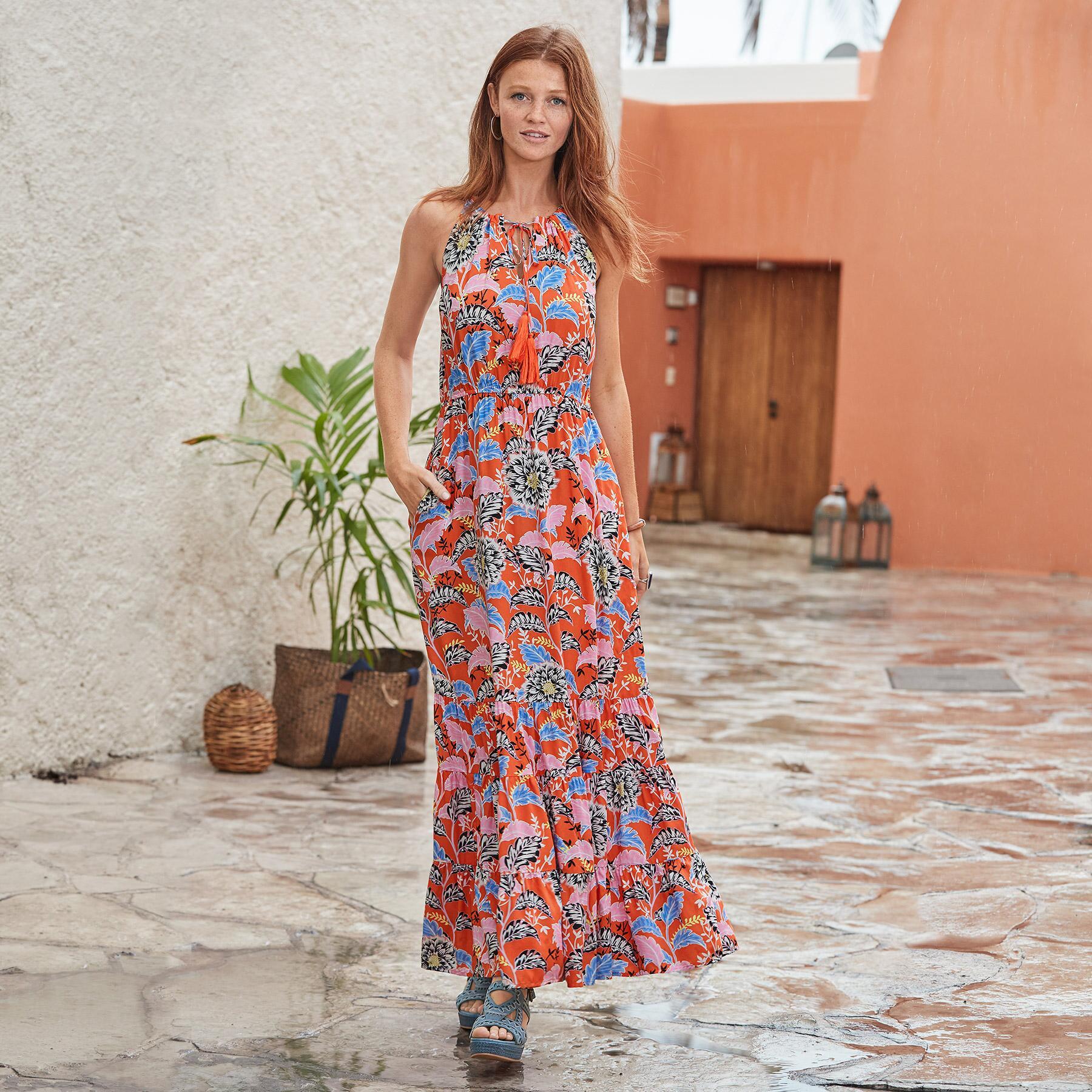 POLYNESIAN BEAUTY DRESS PETITE: View 1