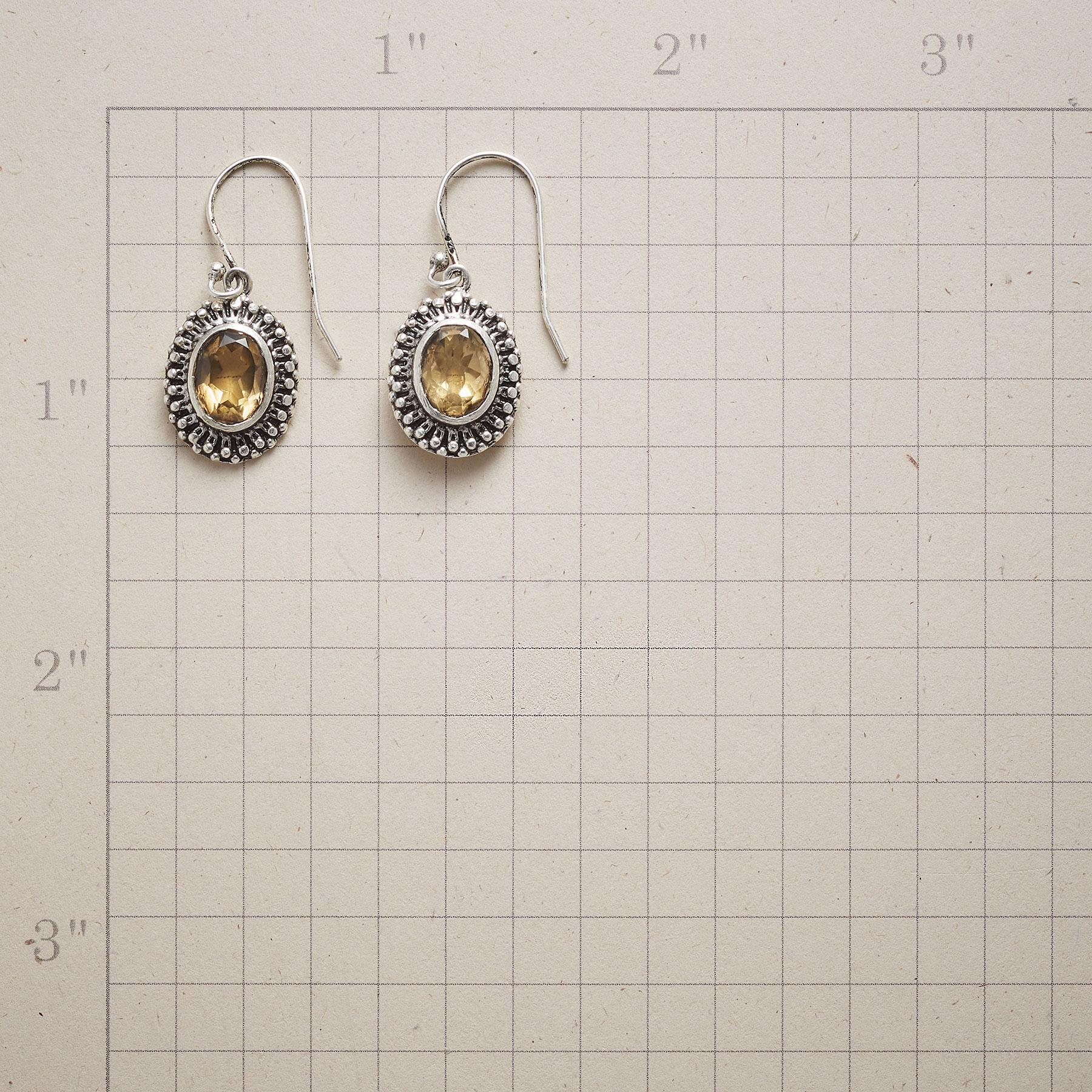 CROWN POINT EARRINGS: View 2