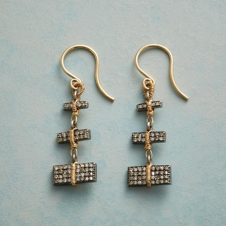 STUNNING STACK DIAMOND EARRINGS