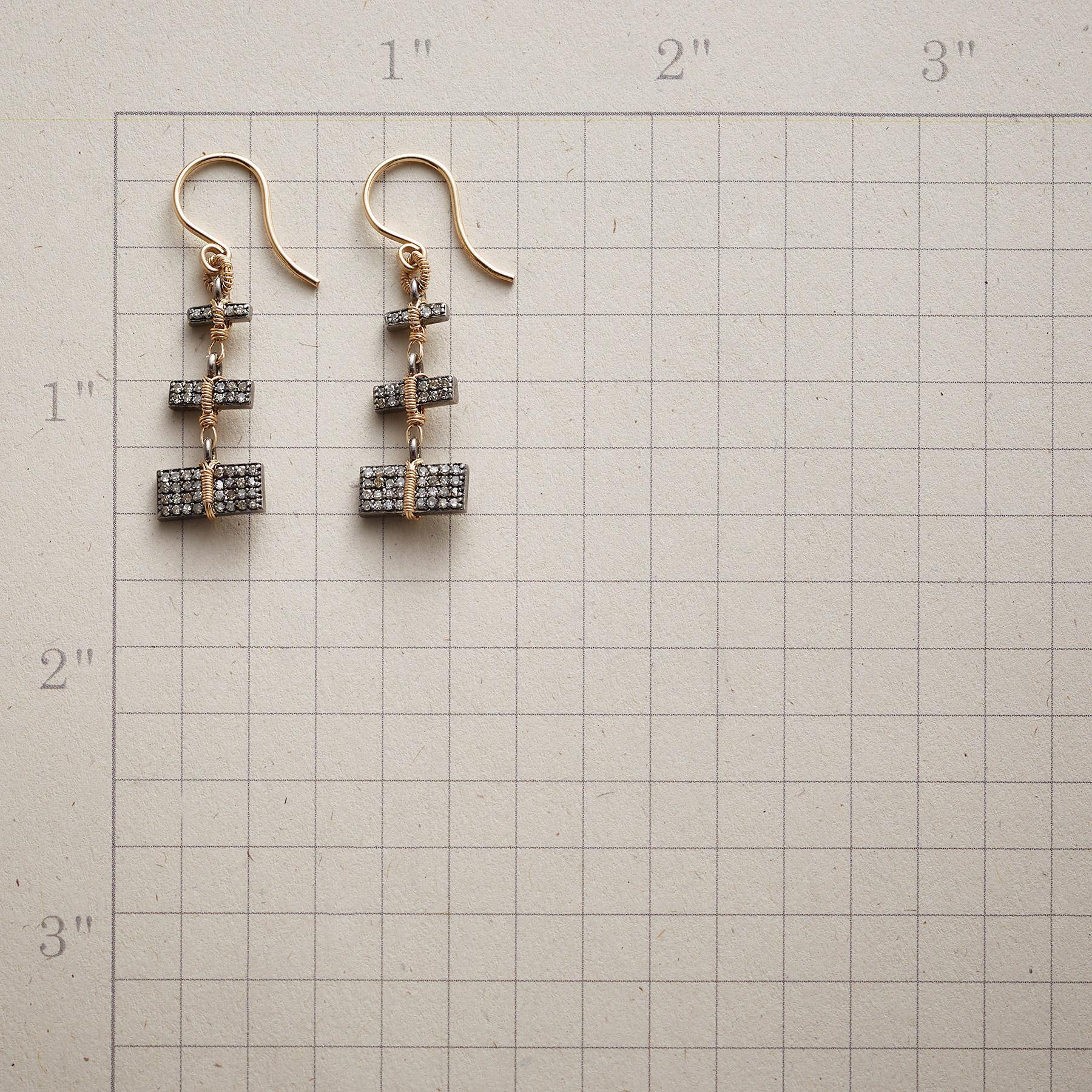 STUNNING STACK DIAMOND EARRINGS: View 2