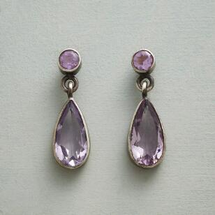 AMETHYST SPARKLE EARRINGS