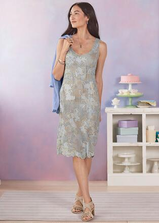 MOONSHADOW DRESS - PETITES