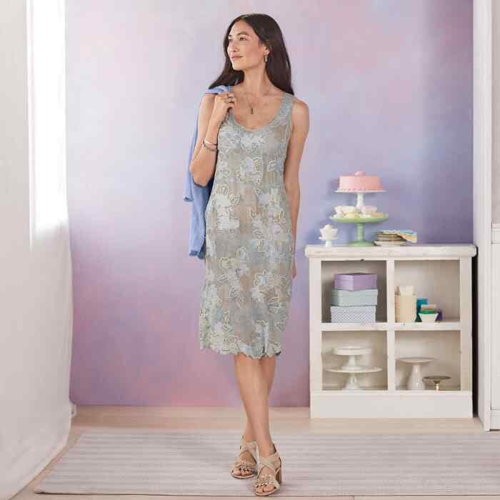 MOONSHADOW DRESS PETITE
